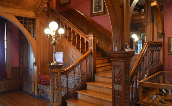 Seiberling Front Staircase